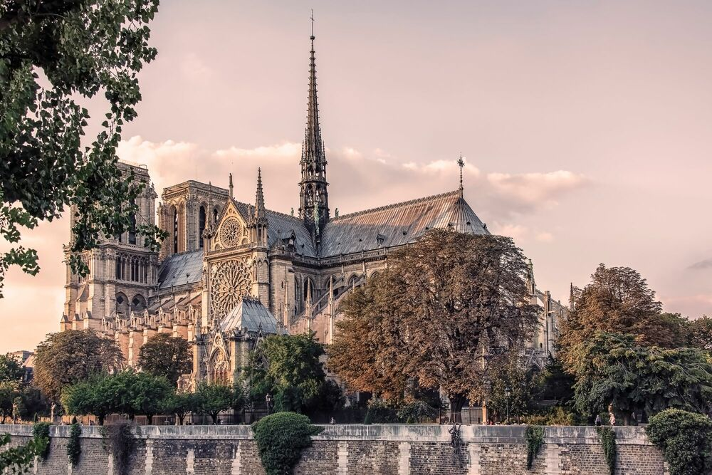 Photographie THE NOTRE DAME OF YOUR MEMORY - MANJIK PICTURES - Tableau photo