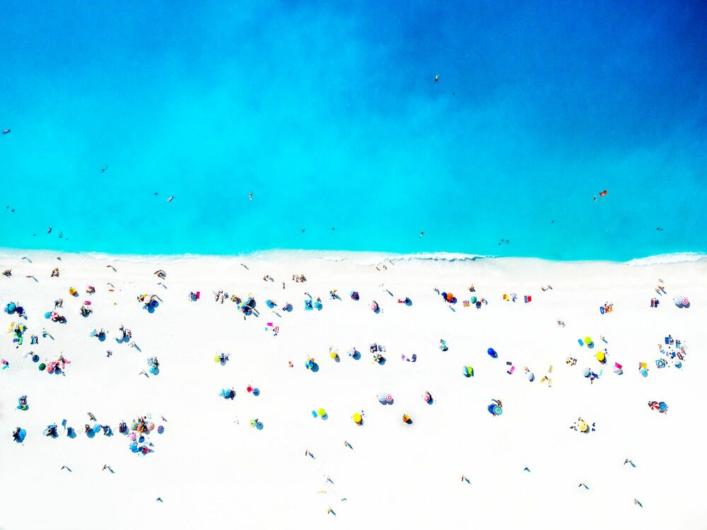 Photograph BEACH CANDIES - MARINA VERNICOS - Picture painting