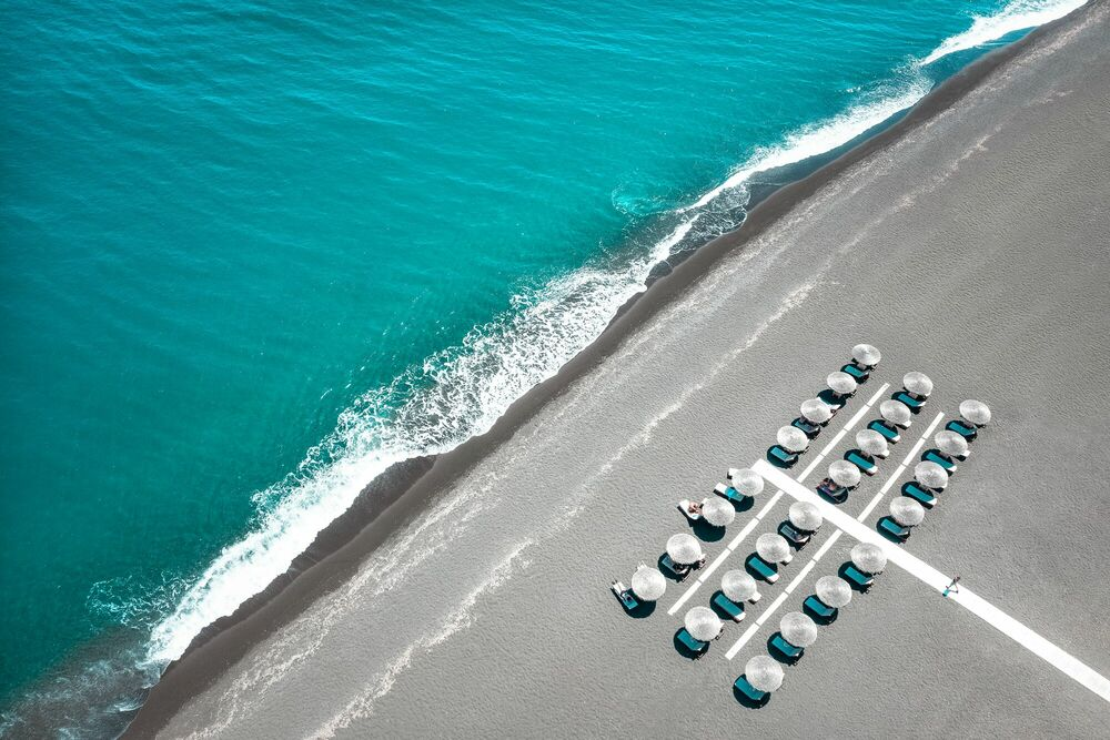 Photograph BEACH POWER PLANT - MARINA VERNICOS - Picture painting