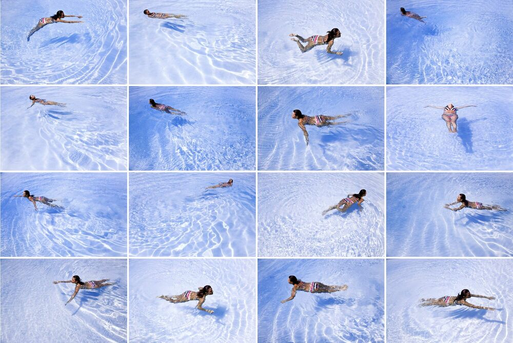 Photographie Swimming Pool - MARIO ROSSI - Tableau photo