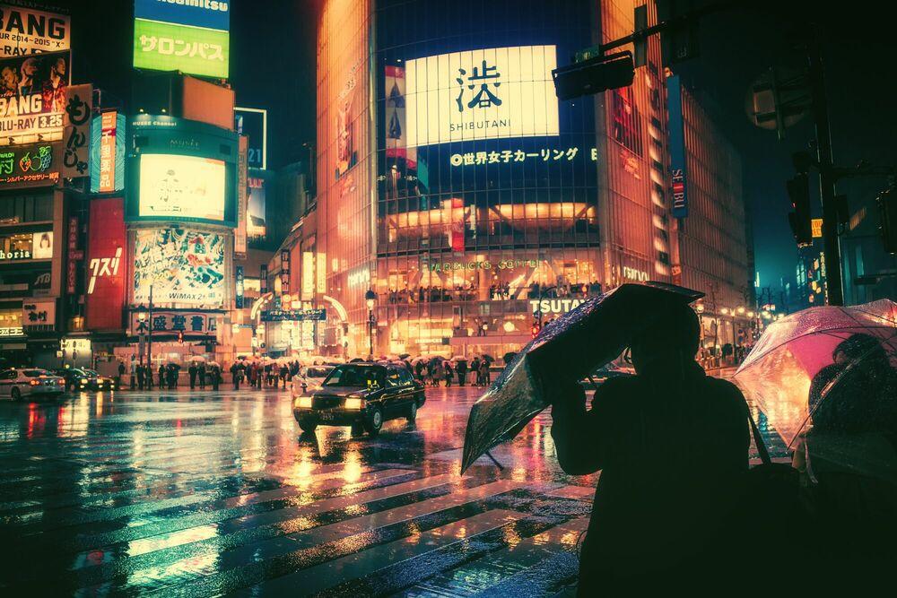 Kunstfoto TOKYO IX - MASASHI WAKUI - Foto schilderij