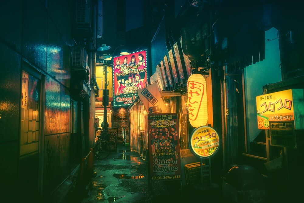 Photographie TOKYO V - MASASHI WAKUI - Tableau photo
