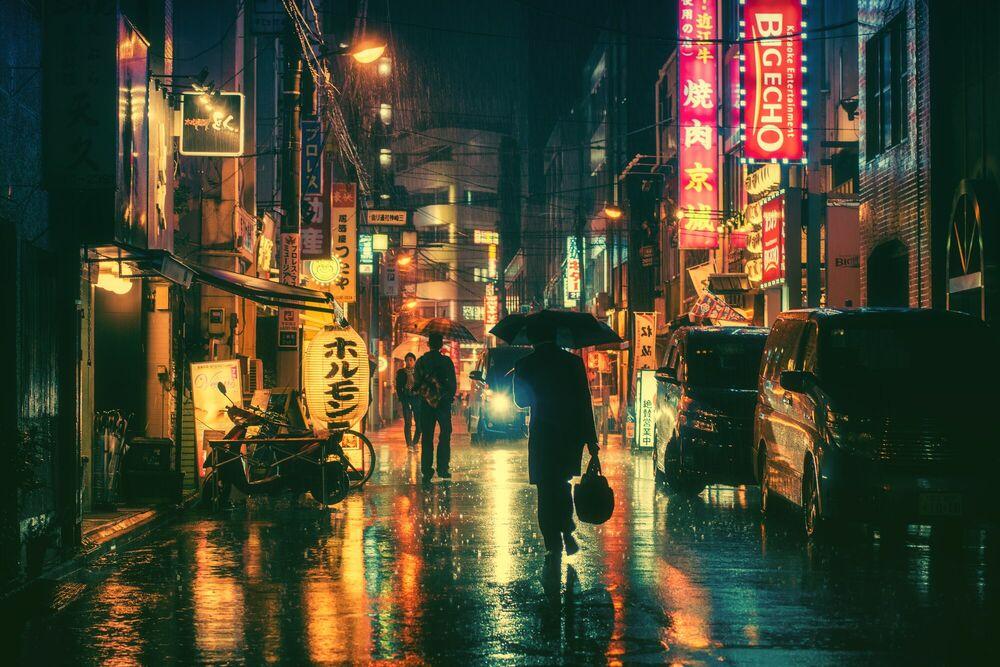 Fotografia Tokyo VIII - MASASHI WAKUI - Pittura di immagini