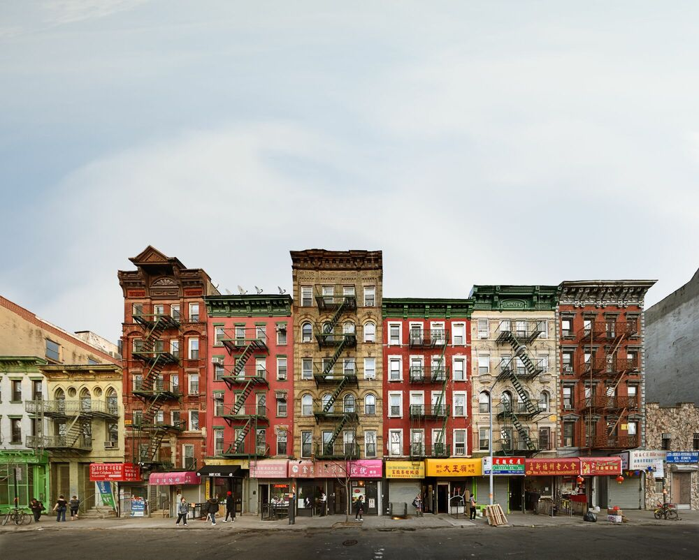 Fotografia FORSYTHE STREET NYC - MATT PETOSA - Pittura di immagini