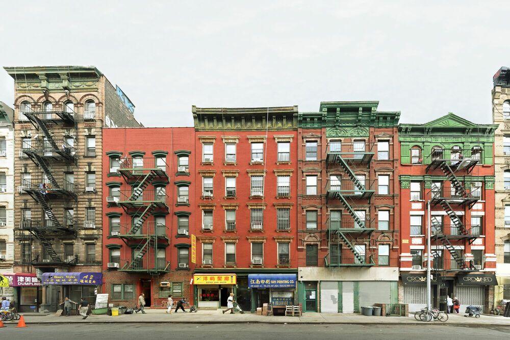 Fotografie HENRY STREET NYC - MATT PETOSA - Bildermalerei