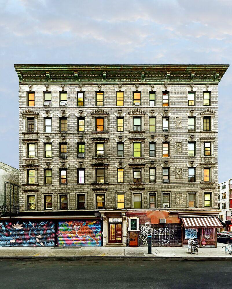 Fotografie MARANS COURT LUDLOW STREET NYC - MATT PETOSA - Bildermalerei