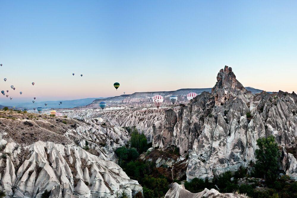 Fotografia Balloons Over Cappadocia - MATTHIAS BARTH - Pittura di immagini