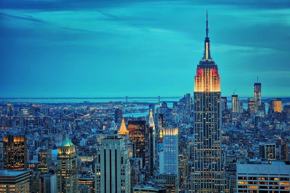 Fotografia Empire State - MATTHIAS HAKER - Pittura di immagini