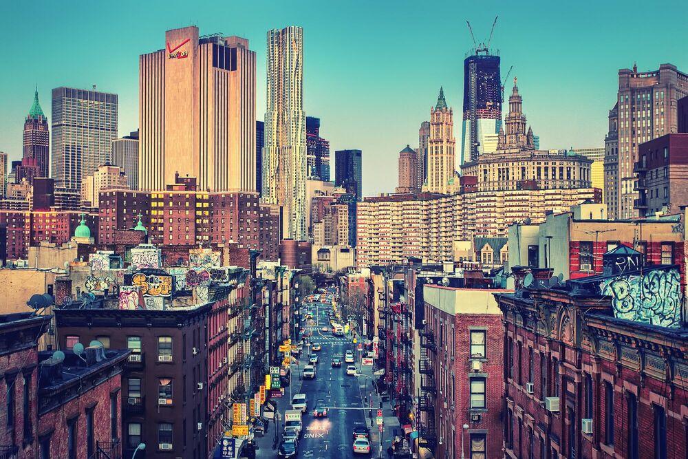 Fotografia Good Morning New York - MATTHIAS HAKER - Pittura di immagini