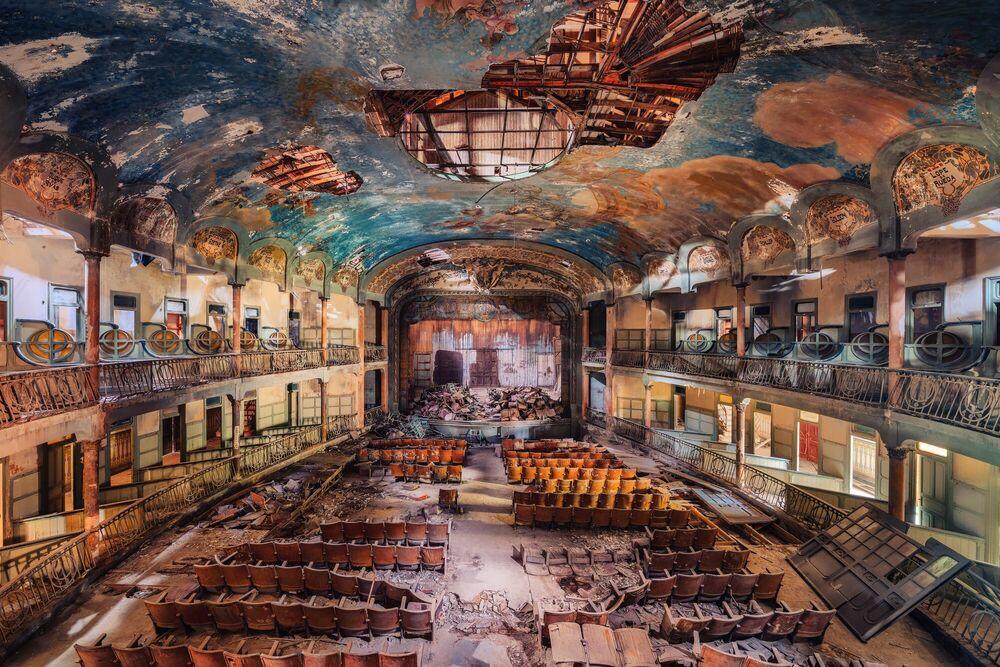 Fotografia THE POETS THEATRE - MATTHIAS HAKER - Pittura di immagini
