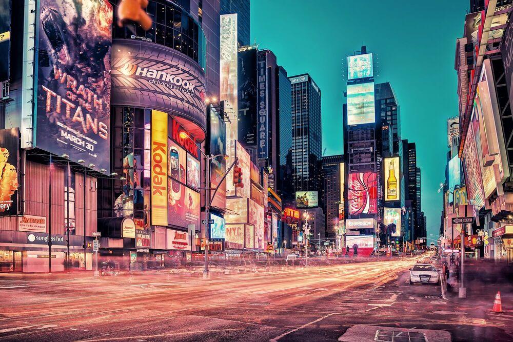 Fotografia TIMES SQUARE, NYC - MATTHIAS HAKER - Pittura di immagini