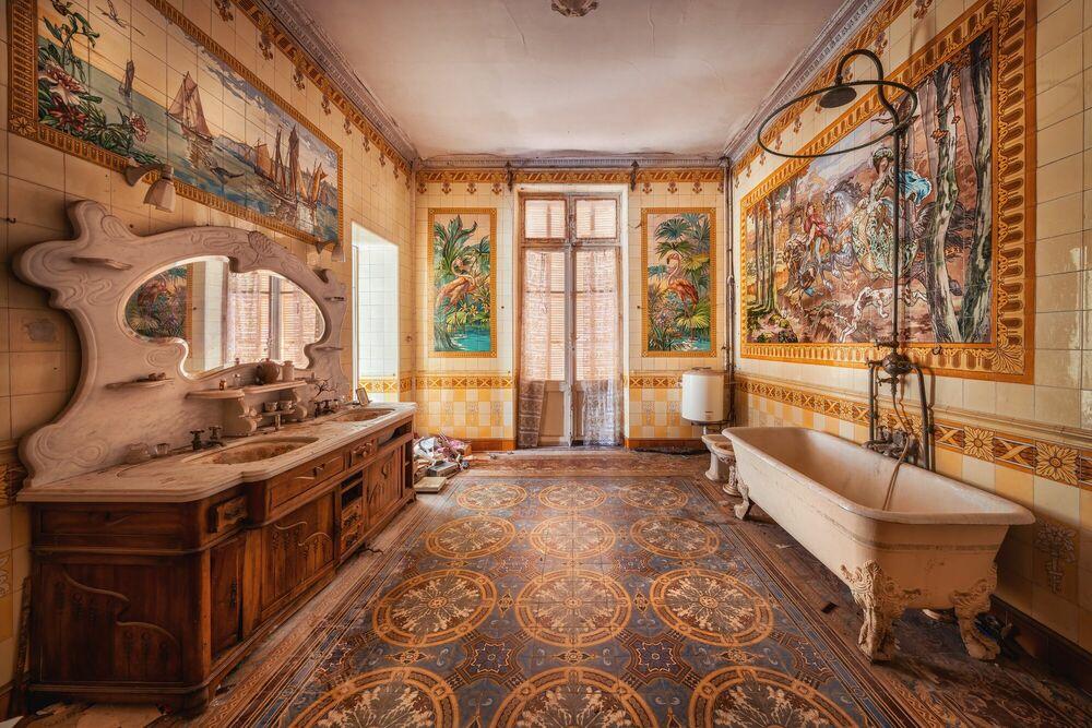Photographie TROPICAL BATHROOM - MATTHIAS HAKER - Tableau photo