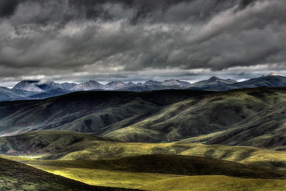 Photographie Tibet oriental - MATTHIEU RICARD - Tableau photo