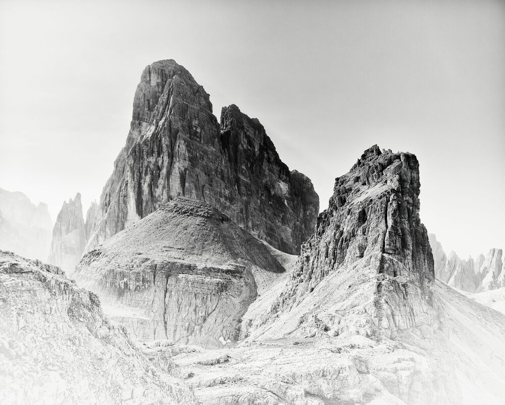 Fotografia MASSIV IV NO 12 - MICHAEL SCHLEGEL - Pittura di immagini