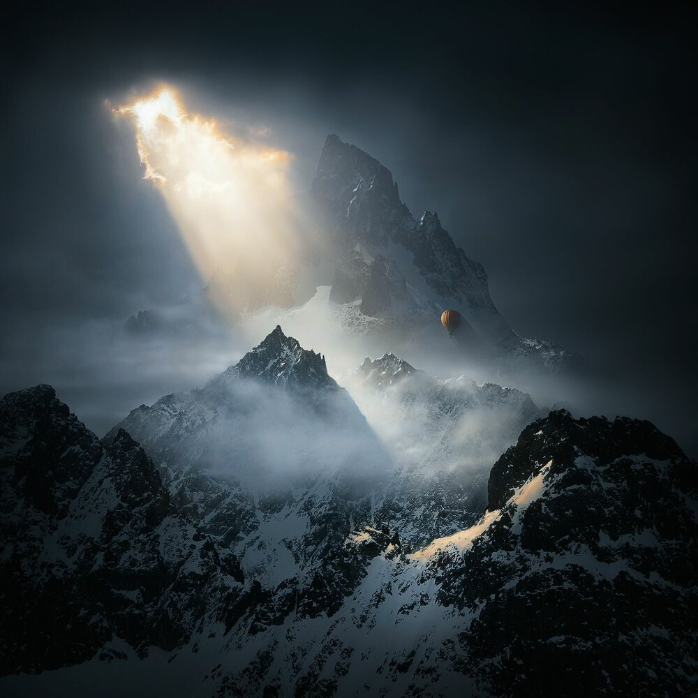 Photograph To the Threshold of Silence II - MICHAL KARCZ - Picture painting