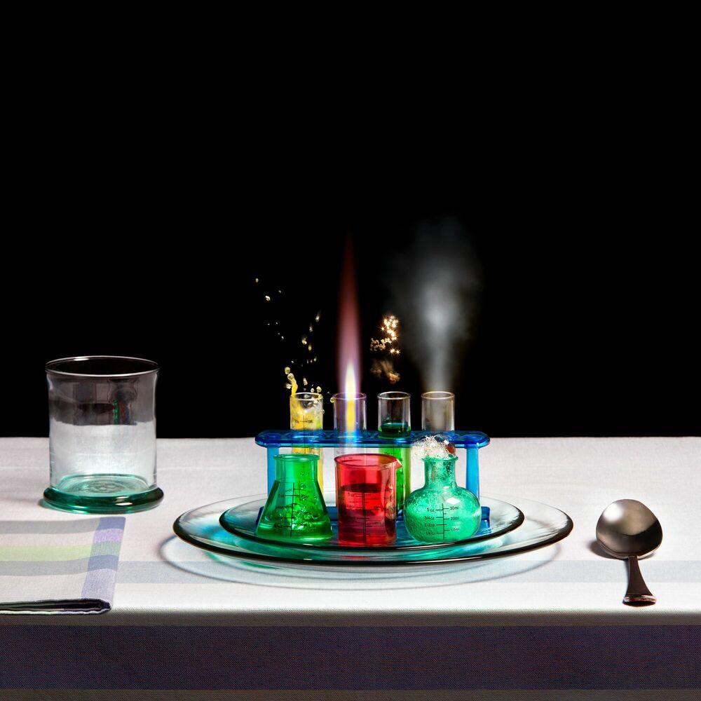 Fotografie PHYSICS AND CHEMICAL SOUP - MIGUEL VALLINAS - Bildermalerei