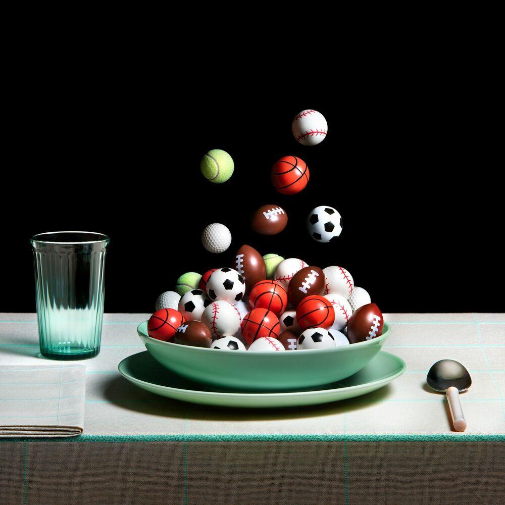 Fotografia SPORTS BALL SOUP - MIGUEL VALLINAS - Pittura di immagini