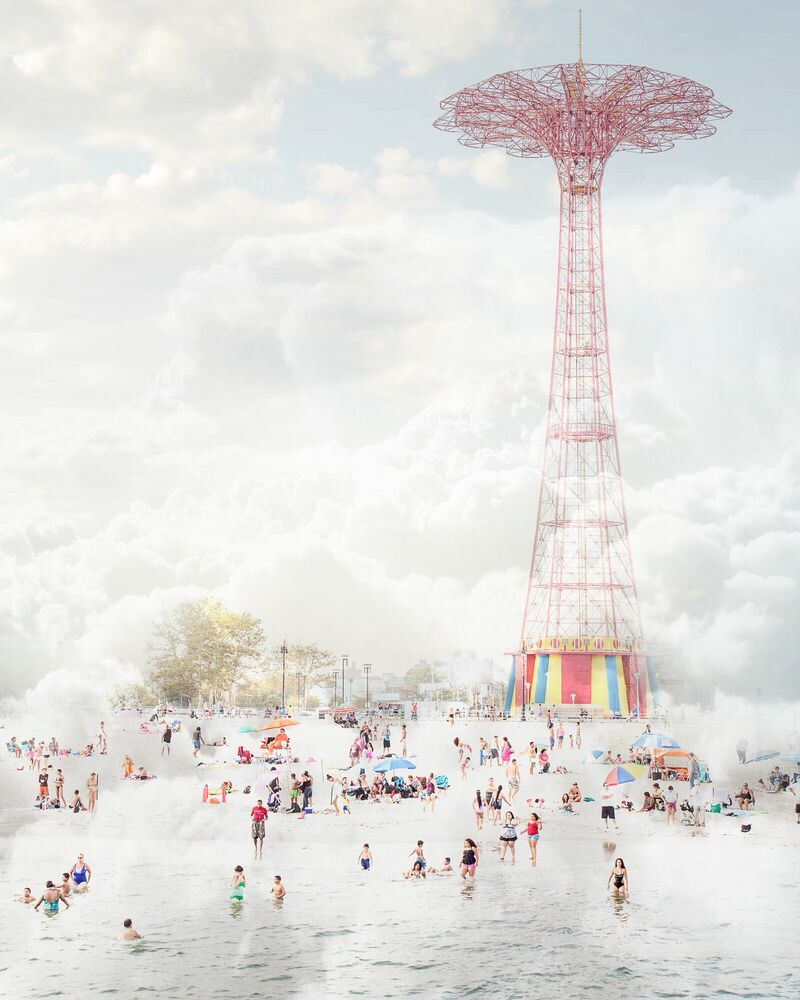 Photographie Brooklyn eiffel tower - MINA TESLARU - Tableau photo