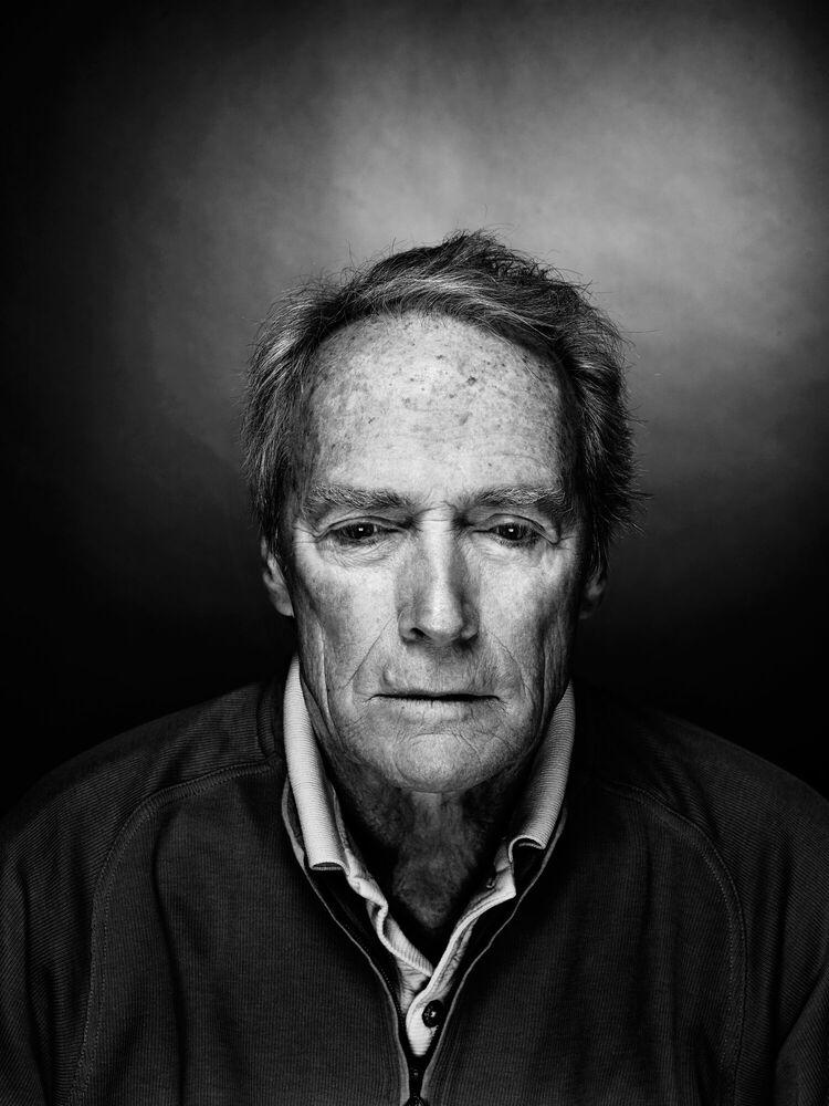 Fotografie Clint Eastwood - NICOLAS GUERIN - Bildermalerei