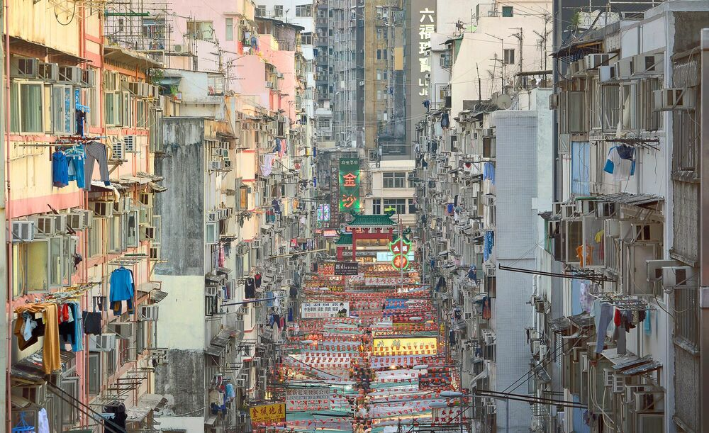 Photographie THE TEMPLE STREET - NICOLAS JACQUET - Tableau photo