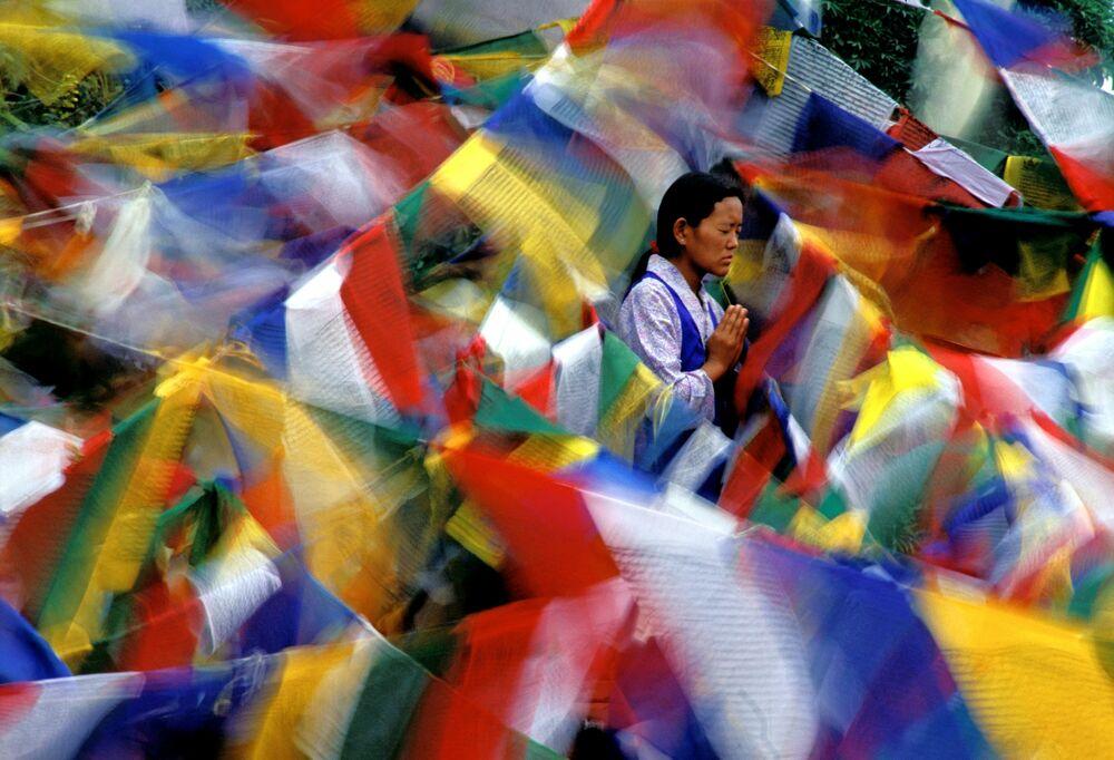 Fotografia Bodh Gaya - OLIVIER FOLLMI - Pittura di immagini