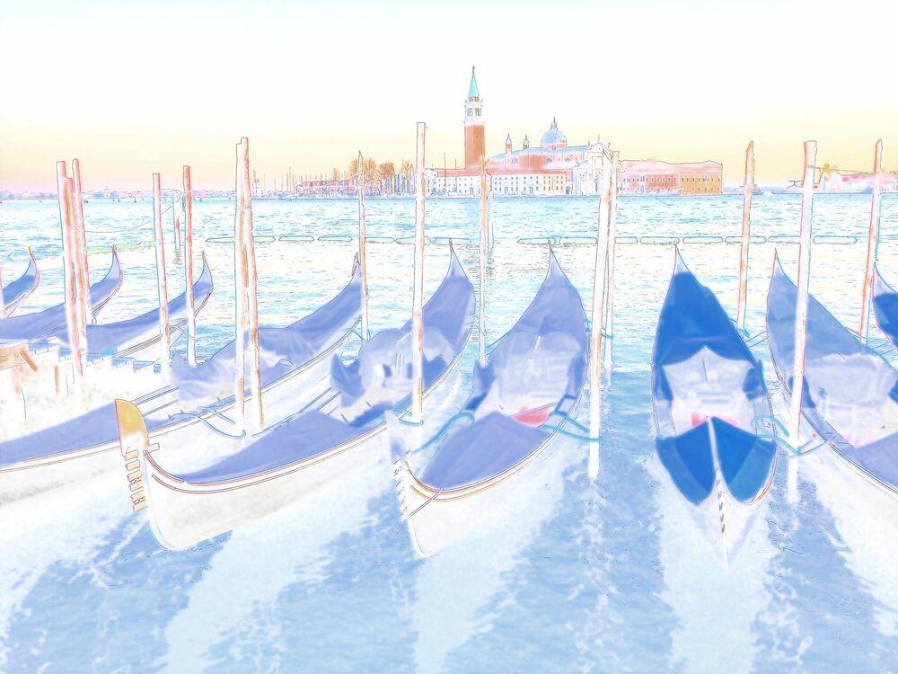 Fotografie Venezia - Gondole - OLIVIER FOLLMI - Bildermalerei