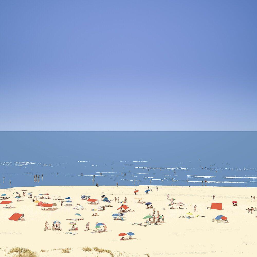Fotografia PORTUGALS BEACH - OLIVIER KAUFFMANN - Pittura di immagini