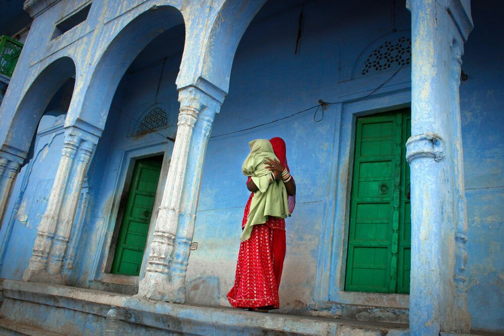 Fotografie MOTHER INDIA - PASCAL MANNAERTS - Bildermalerei