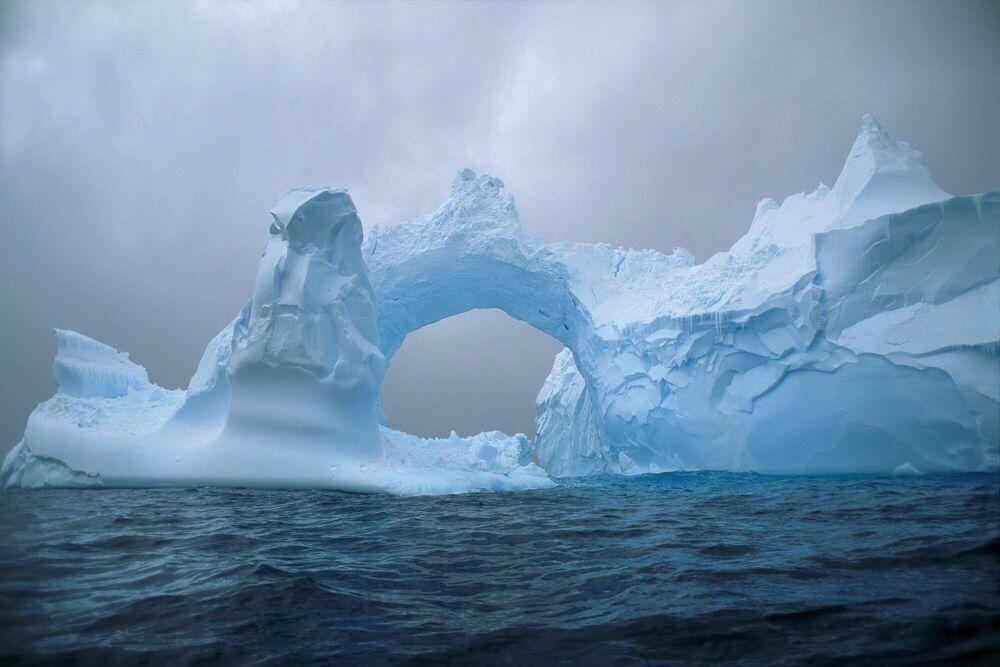 Photographie Arch of Ice - PATRICK DE WILDE - Tableau photo