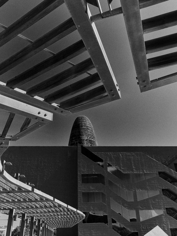 Photographie Geometry, Museo del Diseno de Barcelona - Patrick Schüttler - Tableau photo