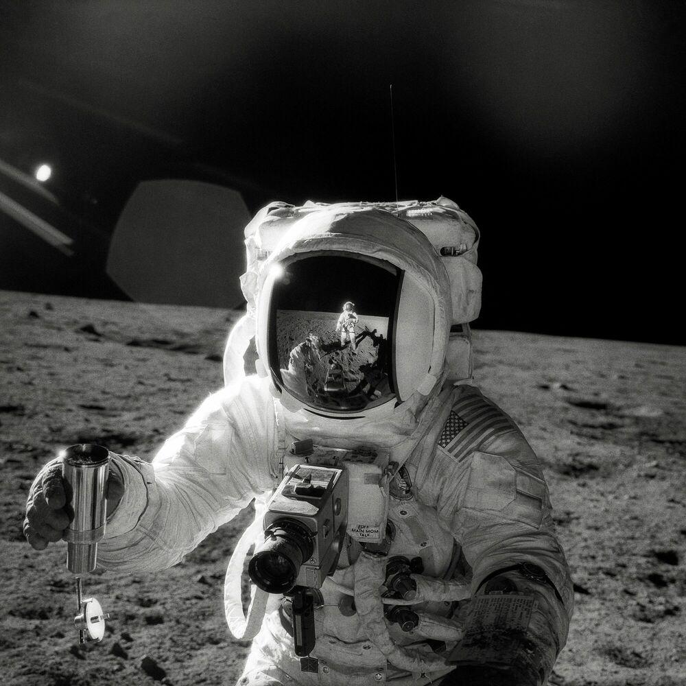 Photographie Alan Bean, Apollo 12 - PETE CONRAD - Tableau photo
