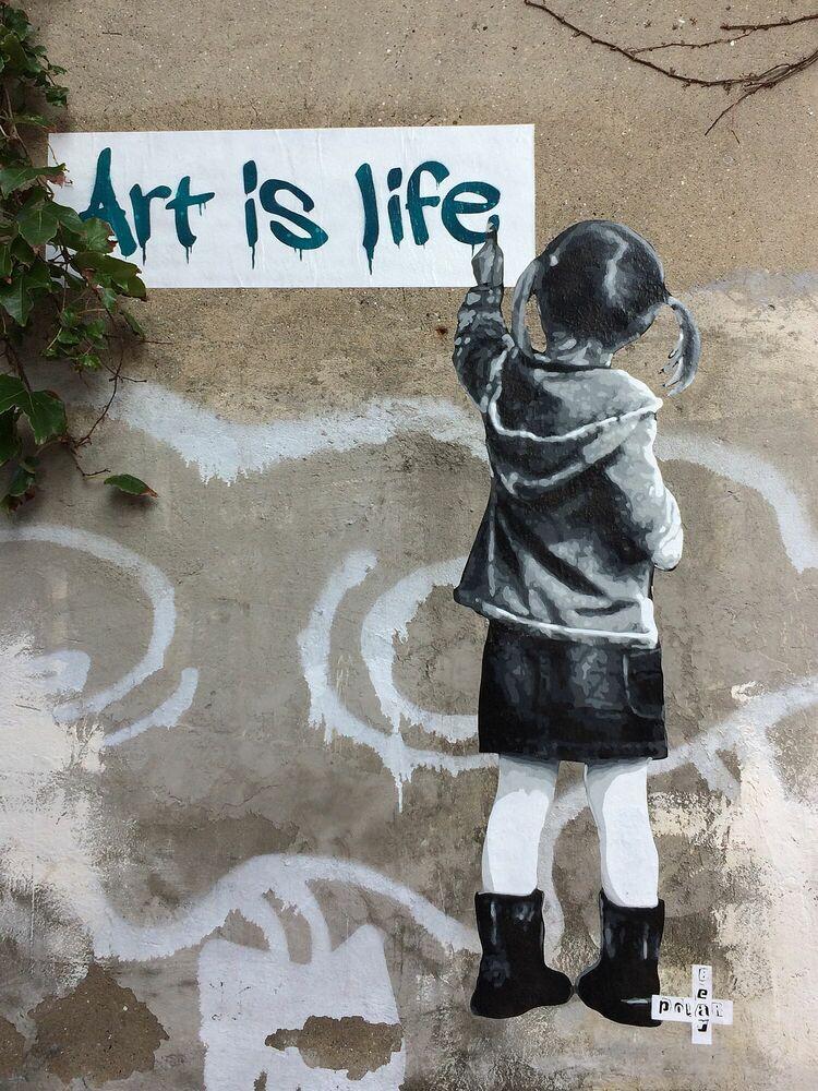 Fotografie ART IS LIFE NOVI SAD - POLAR BEAR - Bildermalerei