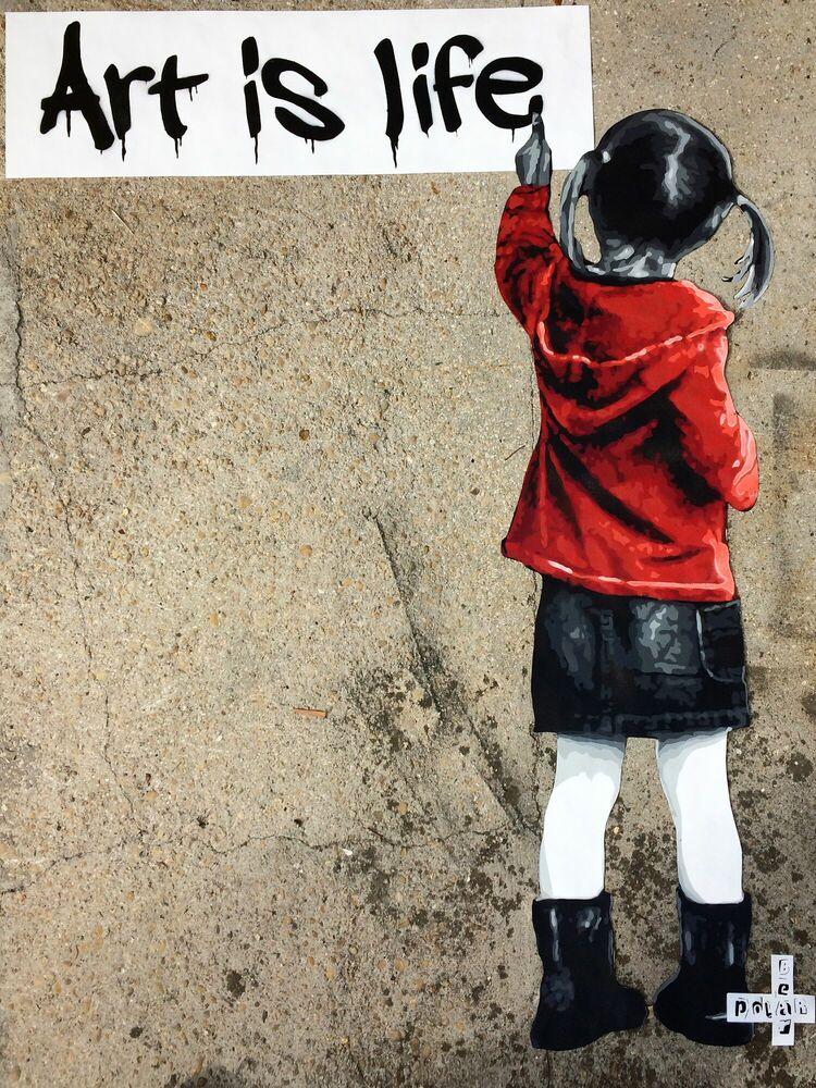 Photographie ART IS LIFE PARIS - POLAR BEAR - Tableau photo