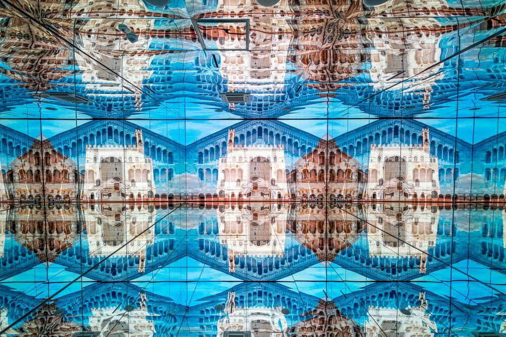 Fotografia Immersed projections 2 - PYGMALION KARATZAS - Pittura di immagini