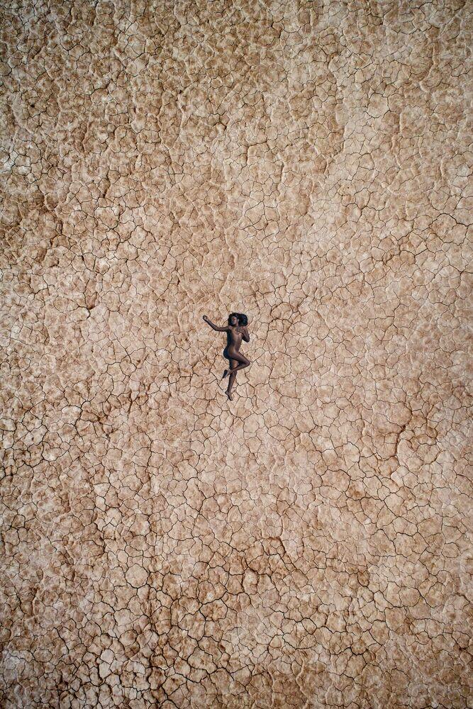 Fotografie CHAUNTEL IN THE DESERT - RAF WILLEMS - Bildermalerei