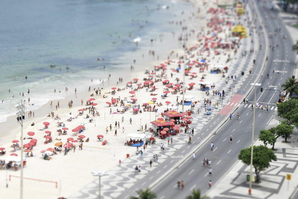 Photographie Copacabana 4 - RICHARD SILVER - Tableau photo