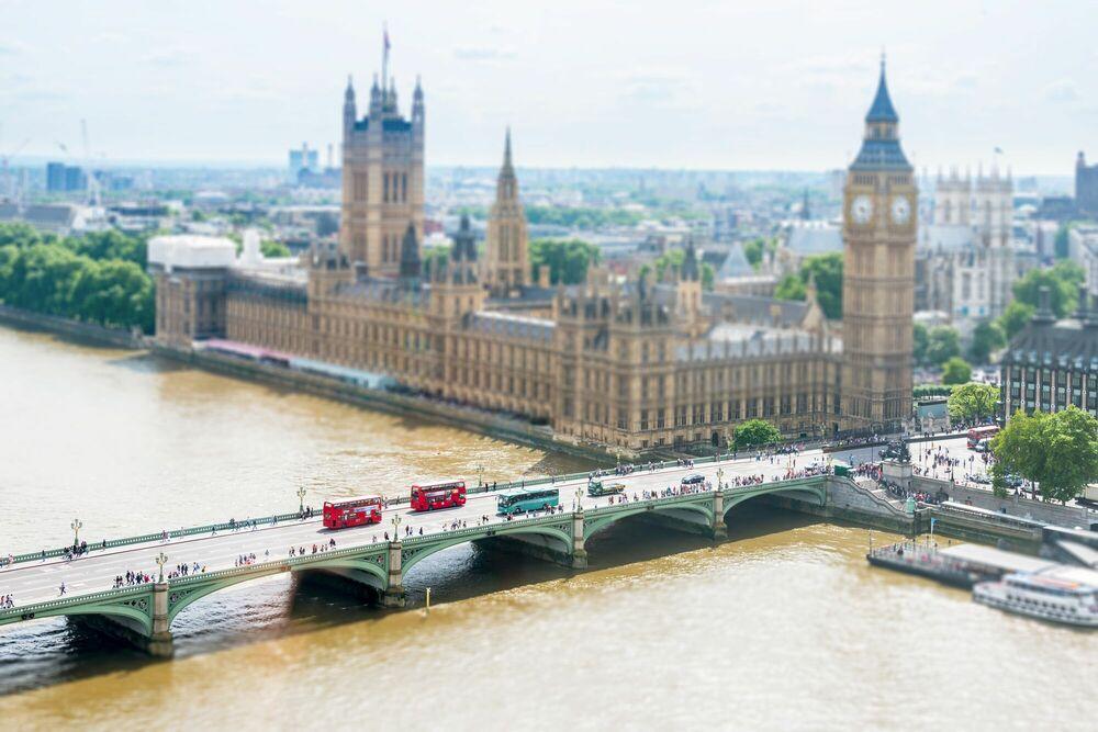 Fotografia London 2 - RICHARD SILVER - Pittura di immagini
