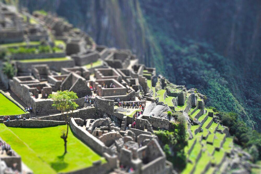Photograph Machu Picchu 4 - RICHARD SILVER - Picture painting