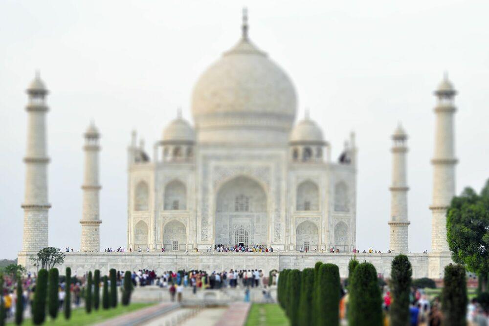 Photographie Taj Mahal - RICHARD SILVER - Tableau photo
