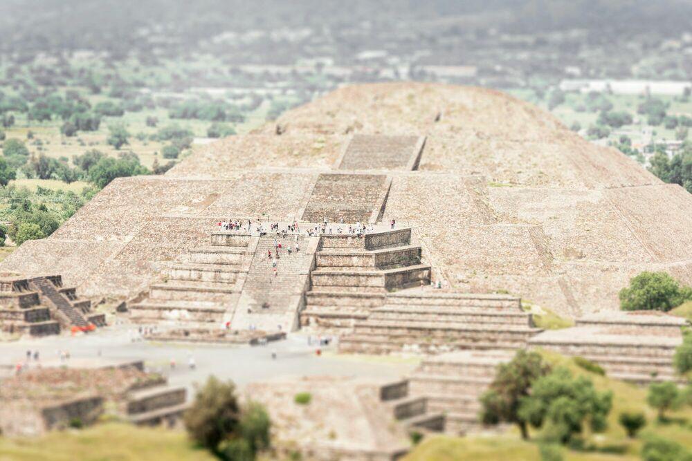 Fotografia Teotihuacan - RICHARD SILVER - Pittura di immagini