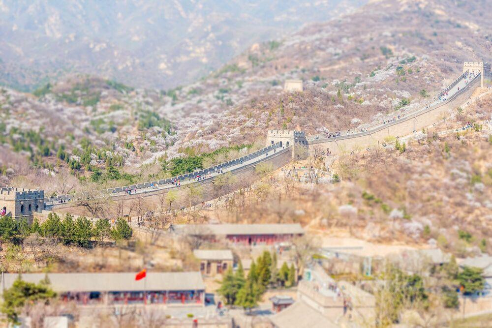 Fotografie The Great Wall 4 - RICHARD SILVER - Bildermalerei