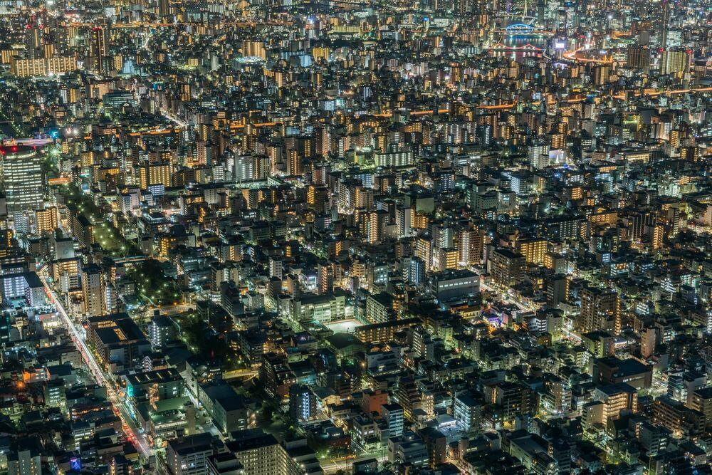 Fotografie TOKYO NIGHTS JAPAN - RICHARD SILVER - Bildermalerei