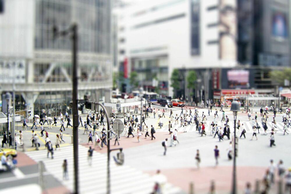 Photographie Tokyo Street - RICHARD SILVER - Tableau photo