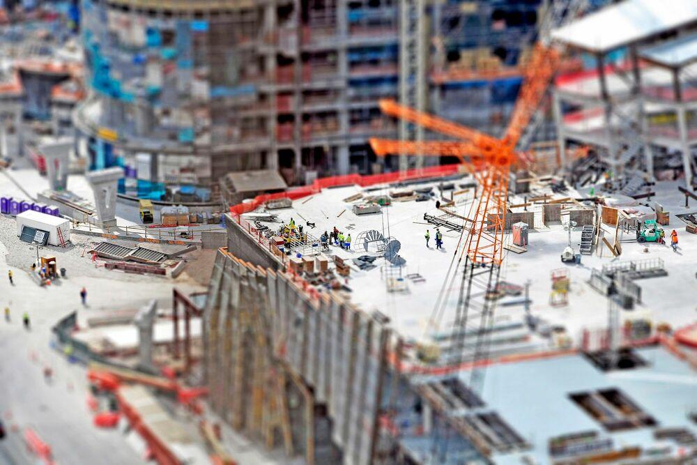 Fotografía Vegas Construction - RICHARD SILVER - Cuadro de pintura