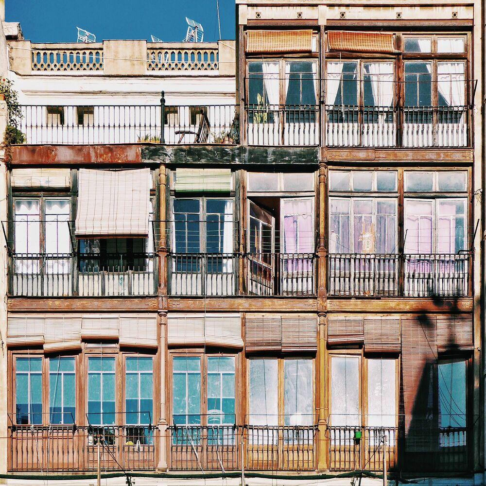 Kunstfoto DAILY LIFE - ROC ISERN - Foto schilderij