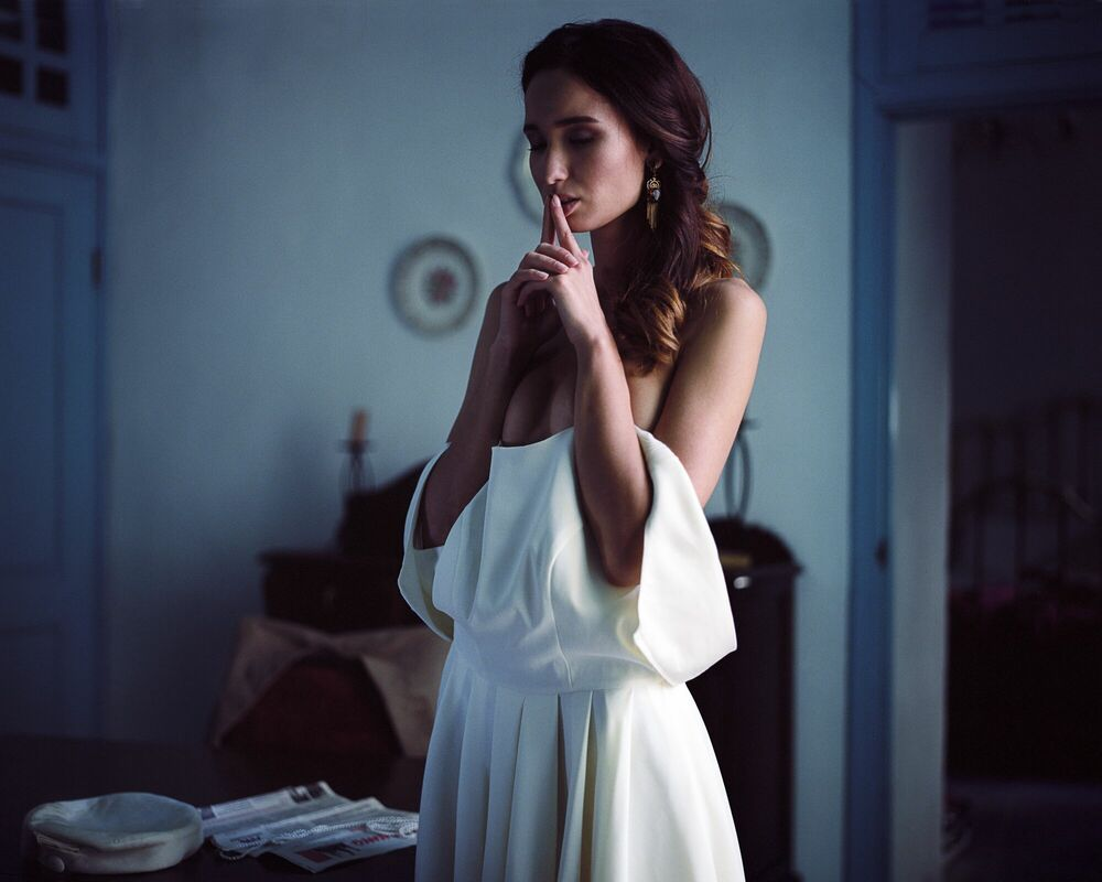 Photograph BLUE ROOM - RUSLAN LOBANOV - Picture painting