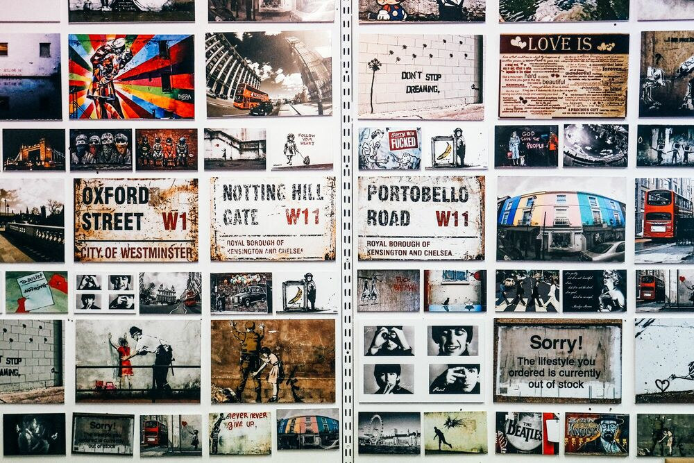 Fotografia London Calling -  Sandmulas - Pittura di immagini