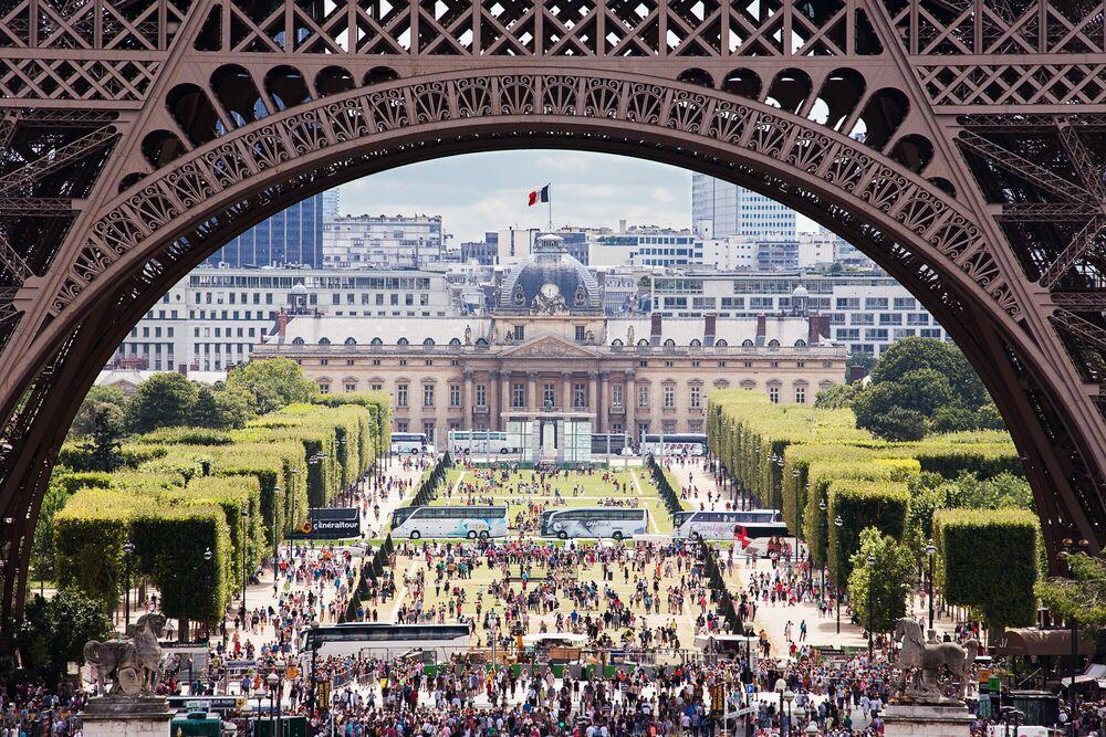 Photographie Eiffel tower - SANDRO GAMPERLE - Tableau photo