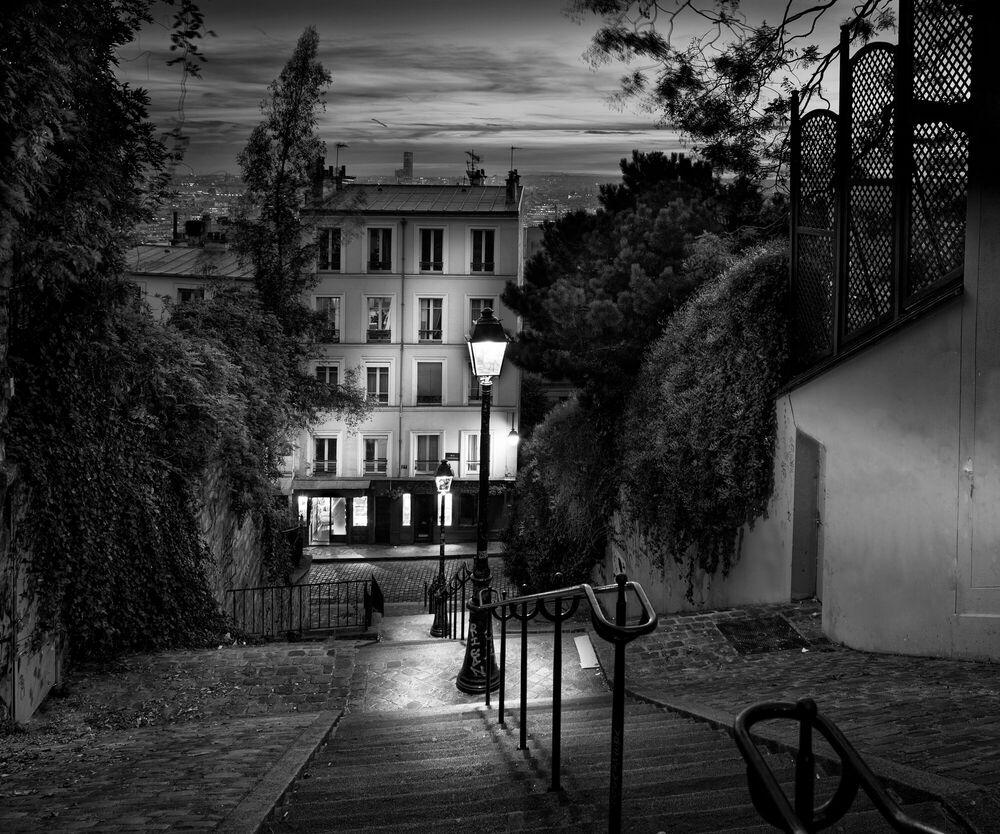 Fotografia Escalier Montmartre - SERGE RAMELLI - Pittura di immagini