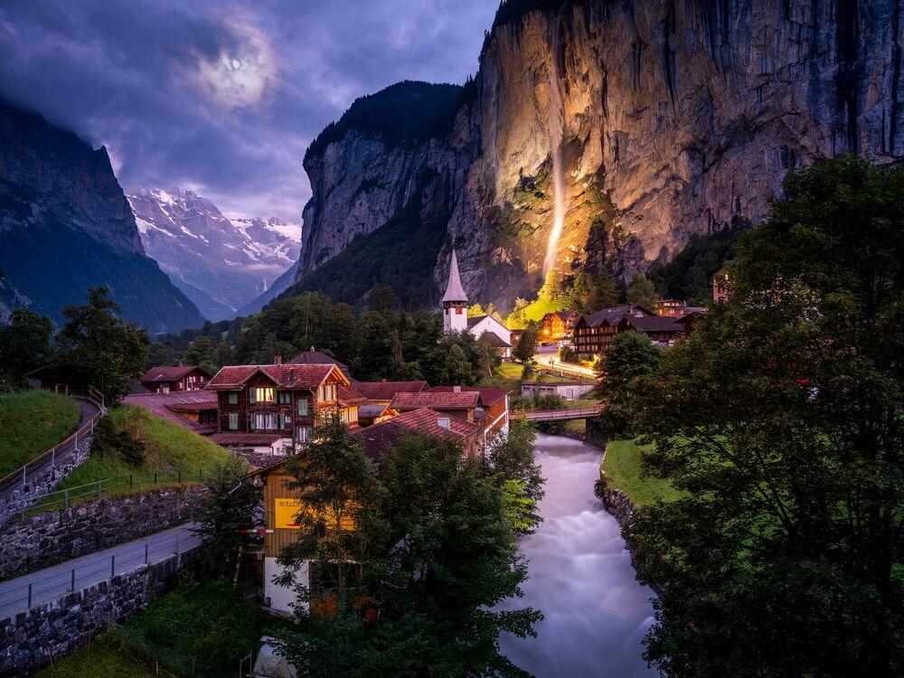 Fotografia Lauterbrunnen Switzerland - SERGE RAMELLI - Pittura di immagini